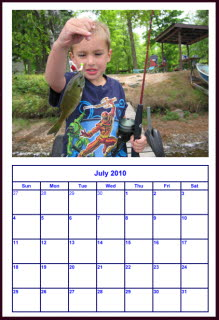 Make And Print Your Own Calendar With Digital Photos
