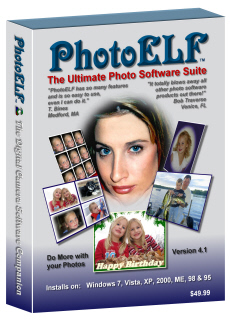 Digital Photo Printing Software - CD-ROM box